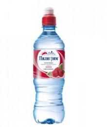 Доставка воды Пилигрим с/л МАЛИНА 0,5 литра (1 уп./12 бут.)