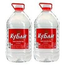 Доставка воды Кубай 2 бутыли по 5 литров