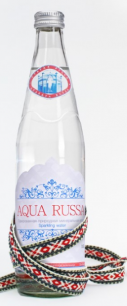 Вода AQUA RUSSA негазированная, 0,5 л. стекло