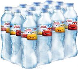 Доставка воды Святой источник Disney, негаз. 0,5 л, пэт (1 уп./12 бут.)
