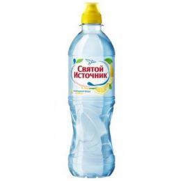 Доставка воды Святой источник, негаз.с соком лимона 0,5 л, пэт (1 уп./12 бут.)
